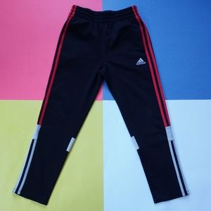 Modern Junior Adidas Red Striped Essential Pants